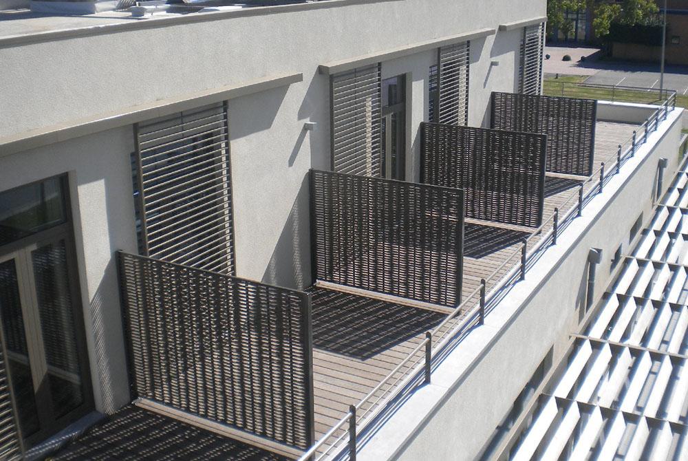 Balkon hotel paneel