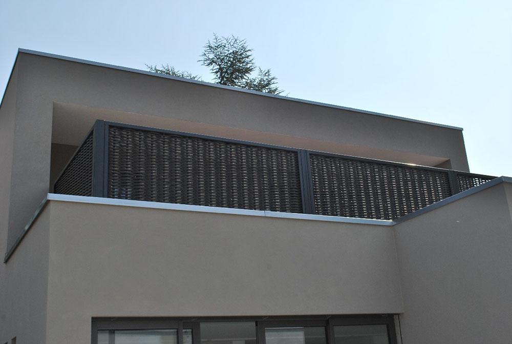 Afscheiding balkon