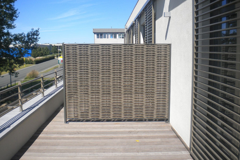 Balkon schutting
